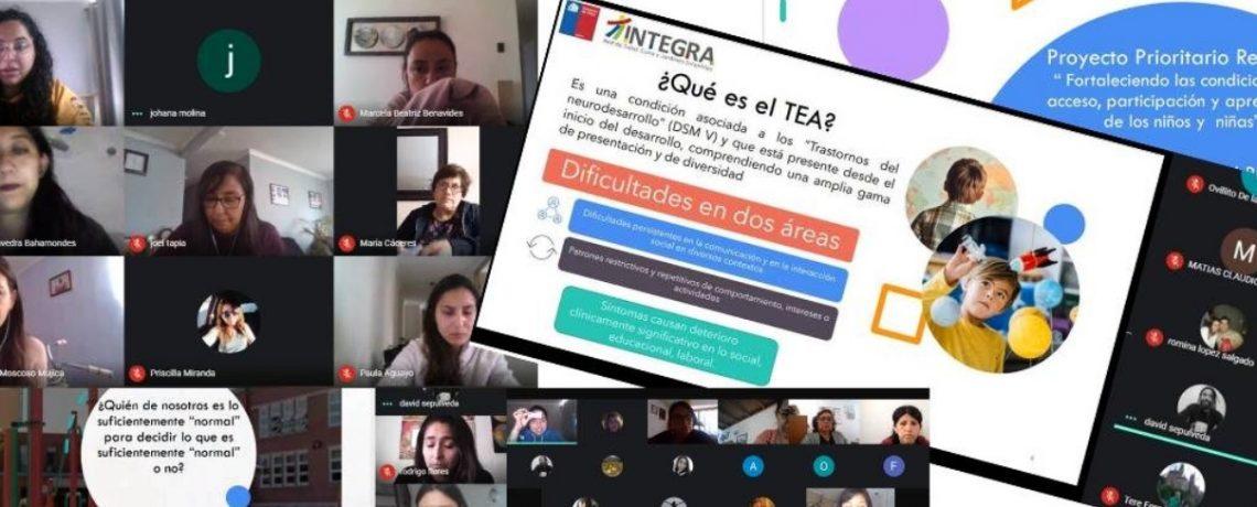 Más de 180 educadoras participan en ciclo de asesorías de inclusión
