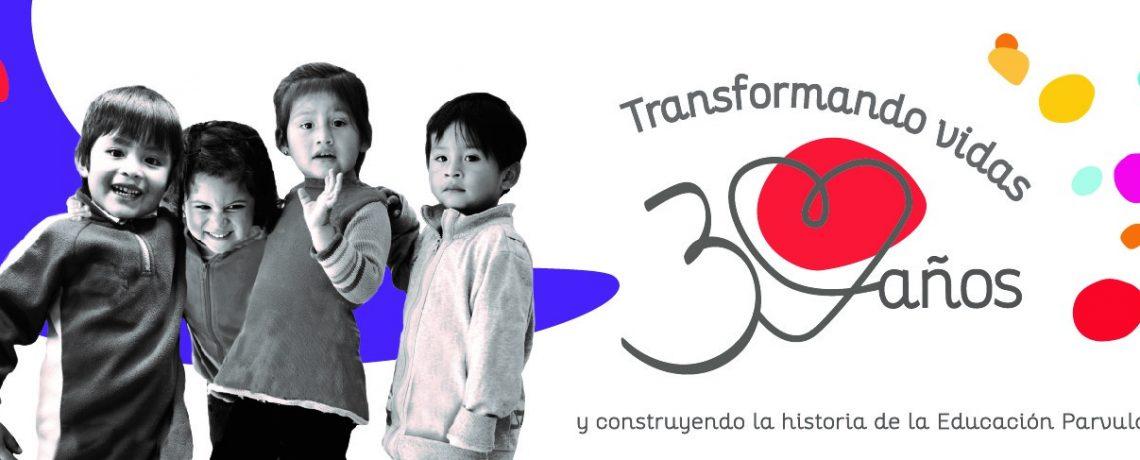 30 años transformando vidas y construyendo la historia de la educación parvularia