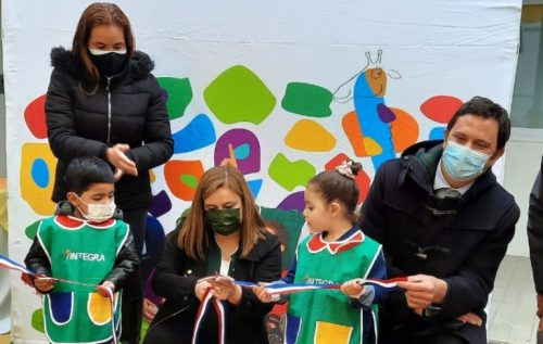 Director Ejecutivo inaugurajardín infantil en Coquimbo