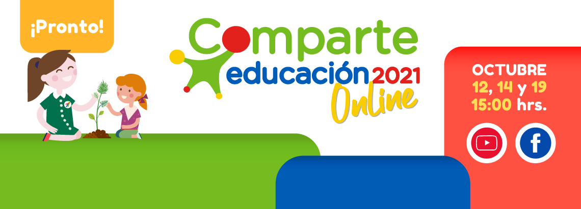 Se viene el Comparte Educación 2021